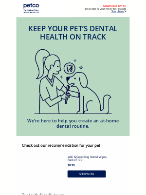Petco - How clean are your pet's teeth today?
