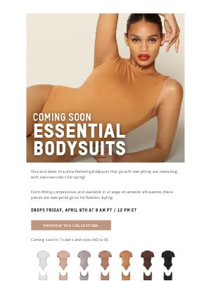 SKIMS - Coming Soon: Essential Bodysuits