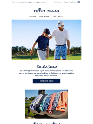 Peter Millar - Father's Day Gift Guide: Golf Essentials