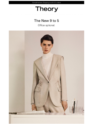 Theory - Spotlight on: Soft Tailoring