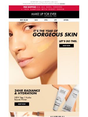 MAKE UP FOR EVER - Attn: Gorgeous Skin Inside