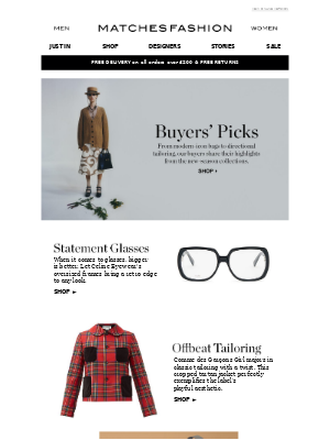 Matches Fashion (UK) - The pieces our buyers are loving now