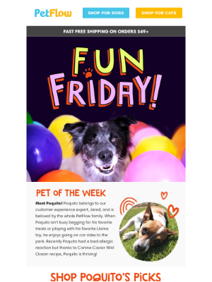 PetFlow - Happy (FUN) Friday!