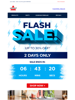 BISSELL - SALE EXTENDED! ⚡ Take up to 30% off select products