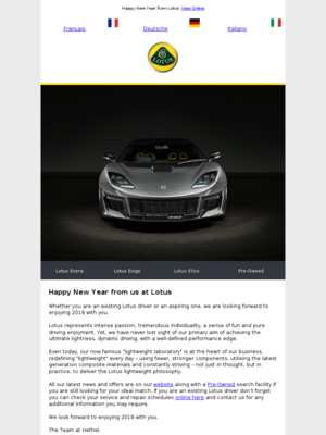 Happy New Year from us at Lotus