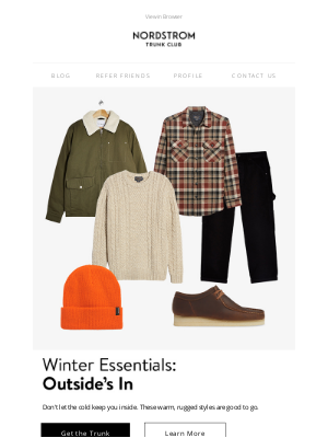 Trunk Club - Your wardrobe needs a warm-up