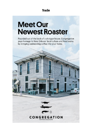 Trade Coffee - Join This Roaster's Congregation