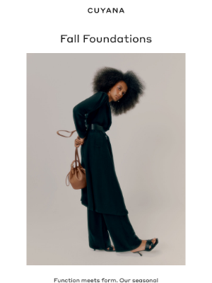 Cuyana - The Edit: Fall Wardrobe Essentials