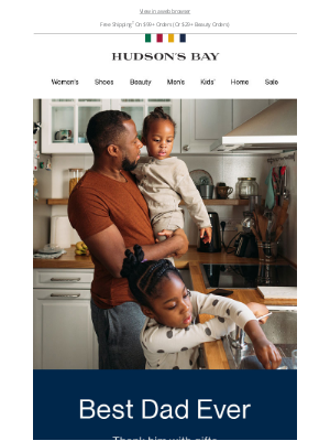 Hudson's Bay (CA) - Gift inspiration for dads and dad figures