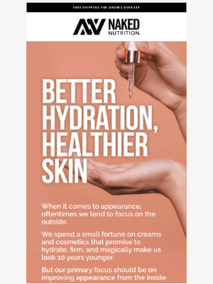 Naked Nutrition - Your 5 Step Natural Anti-Aging Skin Routine