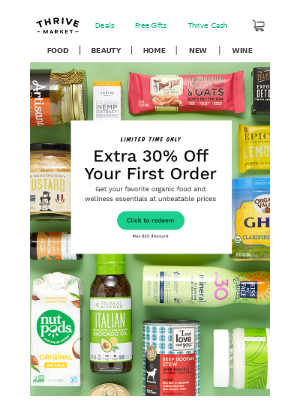 Extra 30% off to buy what you believe in