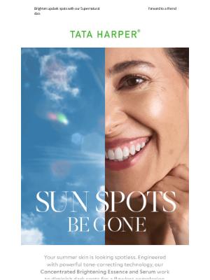 Tata Harper Skincare - Summer Spots Be Gone ☀️