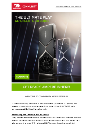 iBUYPOWER - It's Time for a Change! AMPERE IS HERE!