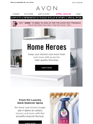 Avon - Check Out Our New Fave Home Products