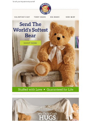 Vermont Teddy Bear - You Just Found The Perfect Gift