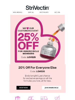 StriVectin - There's Still Time for 25% OFF