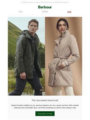Barbour (UK) - Explore Our Latest Styles   New Collections Now Online