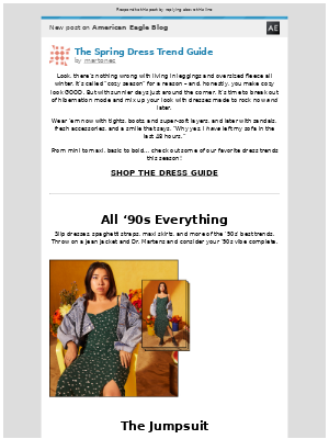 [New post] The Spring Dress Trend Guide