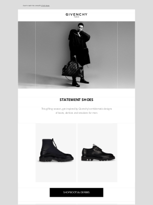 Givenchy - Gifts for Him: Statement Shoes