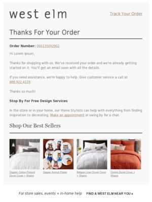 Got it! (Order #: 060135092902)