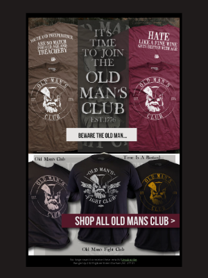Ranger Up Military and MMA Apparel - Beware The Old Man...