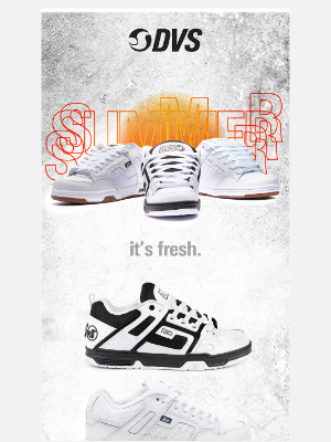 DVS Shoes - Are you ready for summer?