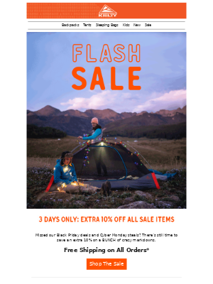 Flash Sale. Light. It. Up.