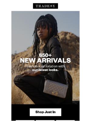 Tradesy - 650+ New Designer Arrivals