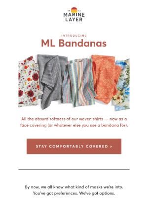 ML Bandanas are here (!)