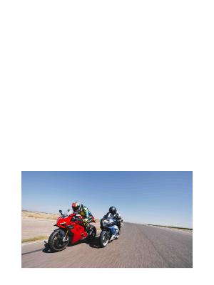RevZilla - CT Digest: Old versus new superbike challenge: 2005 Suzuki GSX-R1000 and 2020 Ducati Panigale V4 S