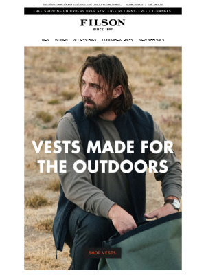Rough & Rugged Outdoor Vests