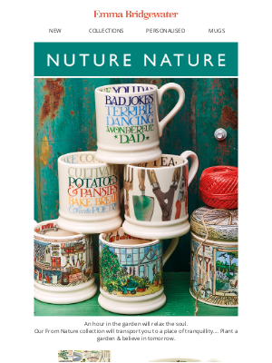 Emma Bridgewater (UK) - Into the garden, the new heart of our home
