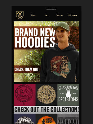 Ranger Up Military and MMA Apparel - Get Fall Ready. Hoodies are here!