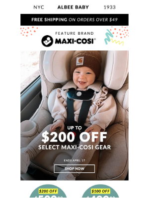 Albee Baby - 🌸 Maxi-Cosi Spring Sale ✚ You (almost) missed some Exclusive Easter Eggs 🐰🥚🧺