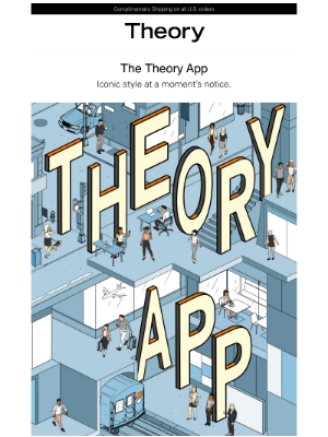 Theory - App Exclusive: Receive a Free Tote