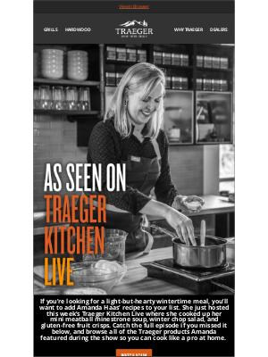 Traeger Grills - Traeger Kitchen Live: Soup, Salad, & Dessert