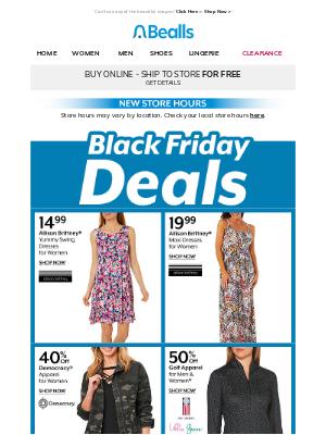 Bealls Florida - Black Friday Deals to shop NOW!