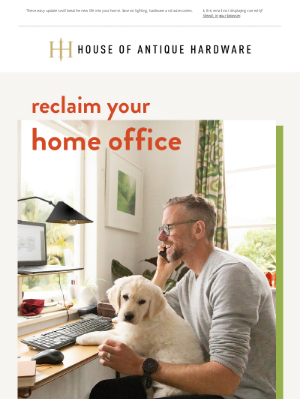 House of Antique Hardware - Save 25% & Reclaim Your Home