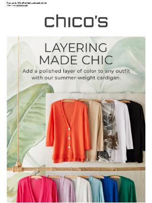 Summer's chicest cardigan