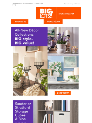 Big Lots - LAST DAY! Save on Home Office Upgrades
