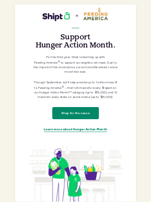 Shipt - Let's work together to end child hunger in America.