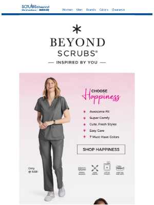 Scrubs & Beyond - Choose Happiness & Live in Harmony!