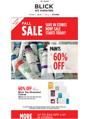 Hello, Fall Sale!