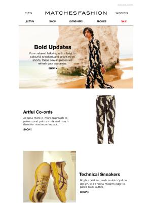 Matches Fashion (UK) - Make a bold statement