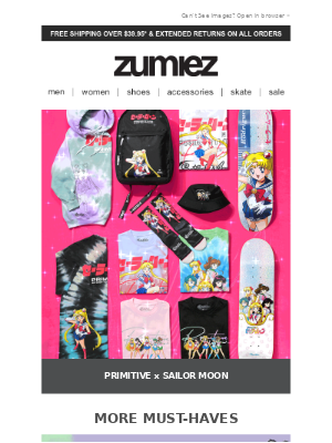 Zumiez - LADIES FIRST: New Must-Have Styles!