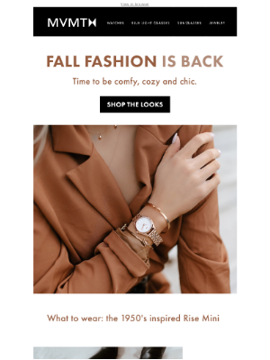 MVMT Watches - Ready for Fall?! 🍂 🍁