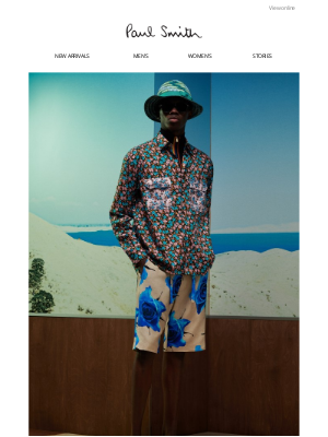 Paul Smith (UK) - 10% off your first order | New styles for spring