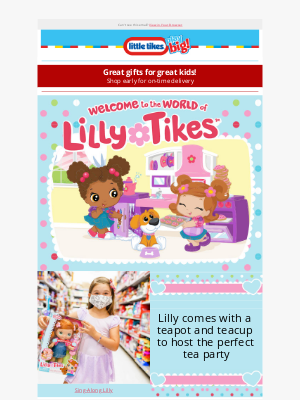 Little Tikes - It's not too late to find great gifts for your favorite girl!