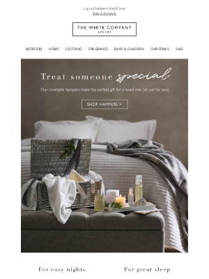 The White Company - Treat someone special (or even yourself)
