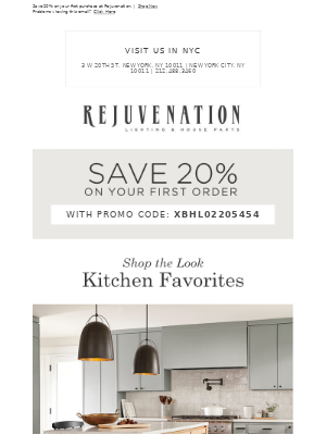 Discover our 2 favorite kitchen looks